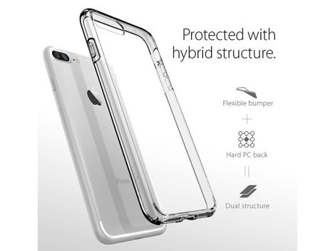 Etui Spigen Ultra Hybrid iPhone 7/8 Plus Crystal Clear