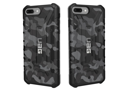Etui UAG Pathfinder iPhone 8/7/6S Plus Midnight Camo +Szkło Alogy