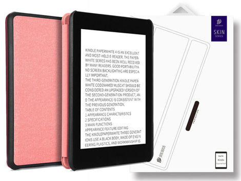 Etui case Dux Ducis do Kindle Paperwhite 4 rose golden
