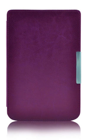 Etui na magnes do PocketBook touch LUX 2/3 626/ 624 /614 fioletowe