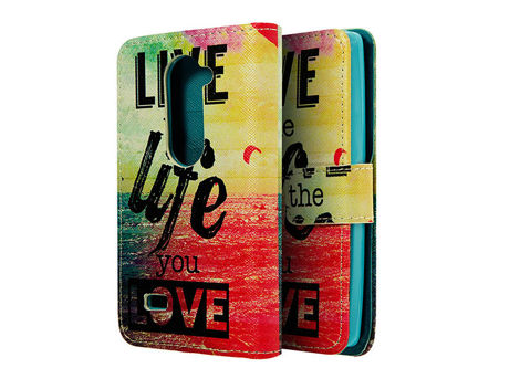 Etui ochronne dla LG Leon C40/ H340 Live the Life you Love
