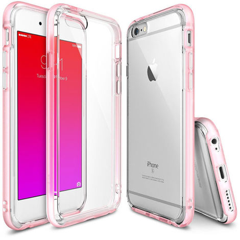 Etui ringke fusion frame iphone 6 / 6s frost rose