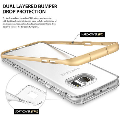 Etui ringke fusion frame samsung galaxy s7 edge frost mint