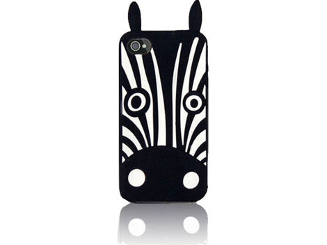 Etui silikonowe 3D Zebra Marvin iPhone 6