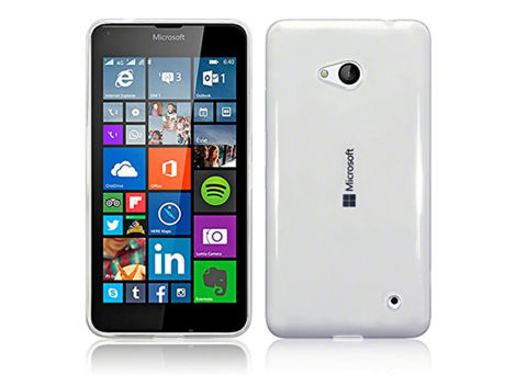 Etui silikonowe crystal 0.3mm guma do Microsoft/ Nokia Lumia 640