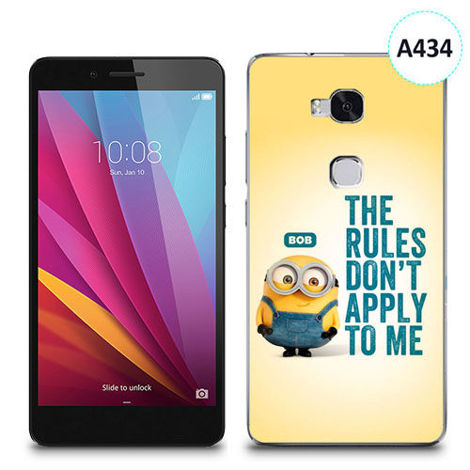 Etui silikonowe z nadrukiem Huawei Honor 5x - minion the rules don't apply to me