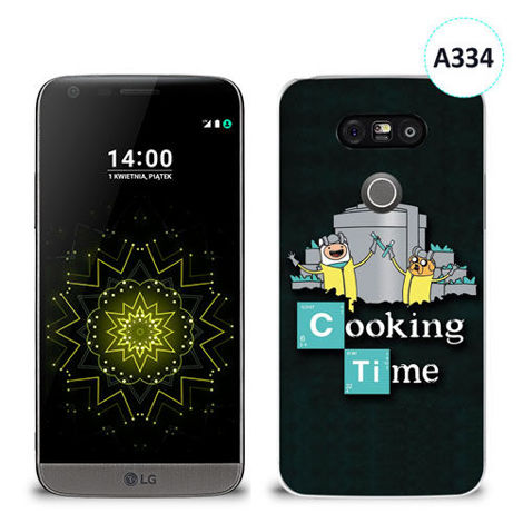 Etui silikonowe z nadrukiem LG G5 - breaking bad cooking time