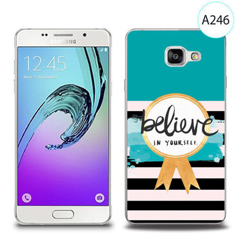 Etui silikonowe z nadrukiem Samsung Galaxy A5 2016 - believe in yourself