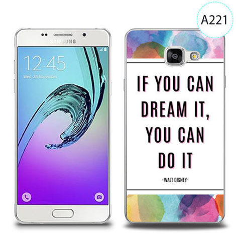Etui silikonowe z nadrukiem Samsung Galaxy A5 2016 - if you can dream it you can do it