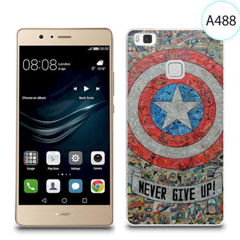 Etui silikonowe z nadrukiem do Huawei P9 Lite - avengers never give up