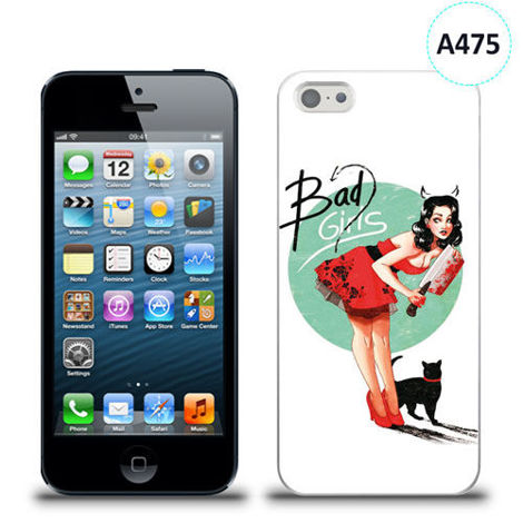 Etui silikonowe z nadrukiem iPhone 5/5s/se - bad girls