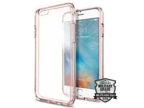 Etui spigen ultra hybrid iPhone 6 / 6s Rose Crystal