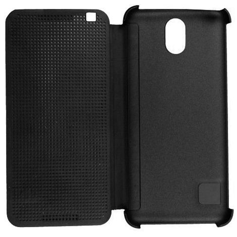 Flip Cover Dot View czerwony do HTC Desire 620