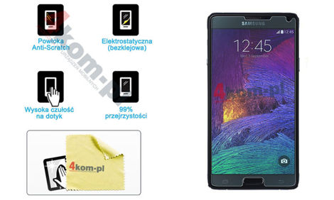Folia ochronna na ekran do Samsung Galaxy Note 4