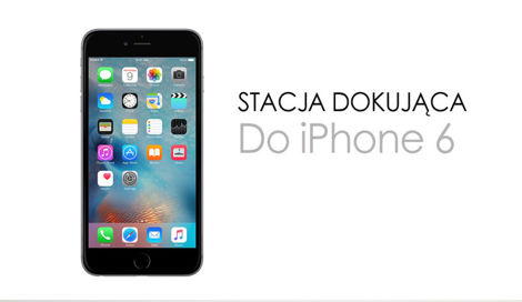 Iphone 6 Dock Stacja dokująca Line OUT Audio iOS