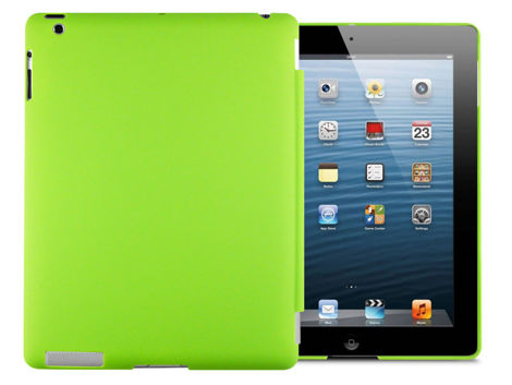 Matowe etui Back Cover do iPad 2 / 3 / 4 zielone