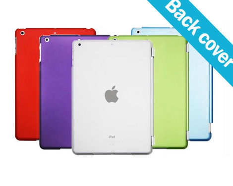 Przezroczyste etui Back Cover do Apple iPad mini 4 ZIELONE