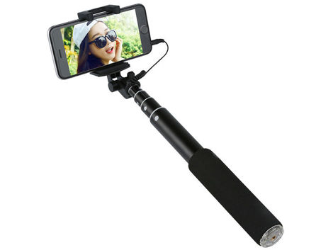 Uchwy Benks Magic Mirror Selfie Stick Czarny
