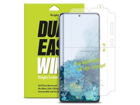 2x Folia hydrożelowa Ringke Dual easy film do Samsung Galaxy S20