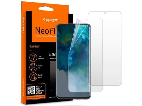 2x Folia ochronna Spigen Neo Flex HD do Galaxy S20 Case Friendly