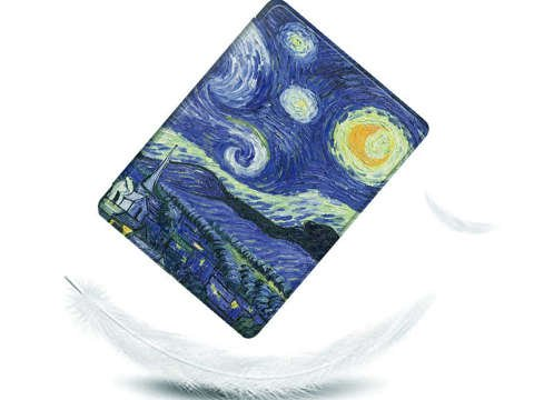 Etui Alogy Smart Case do Kindle Paperwhite 4 Gwiaździsta noc (van Gogh)